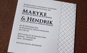 Letter press invites 4