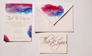 Letter press invites 5