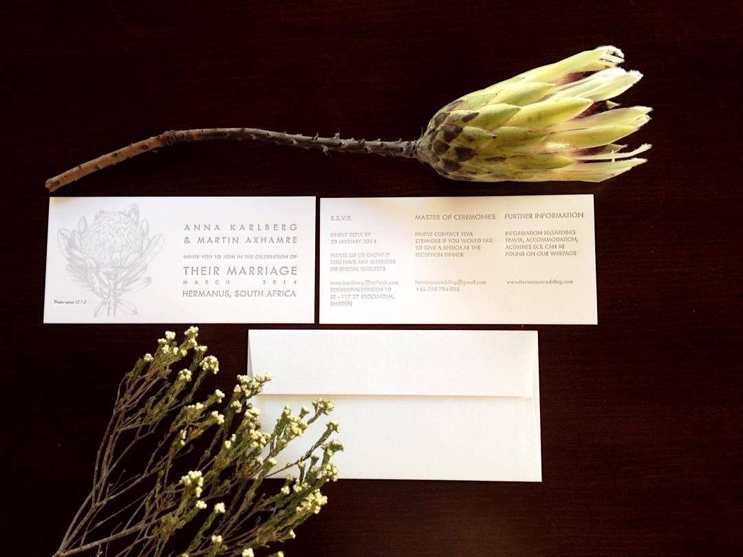 Letterpress wedding invites, wedding stationery designs