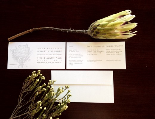Letterpress wedding invites, wedding stationery designs
