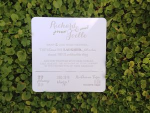 Wedding Invites Cape Town, South Africa