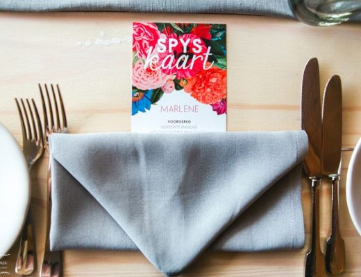Digital Wedding Menus