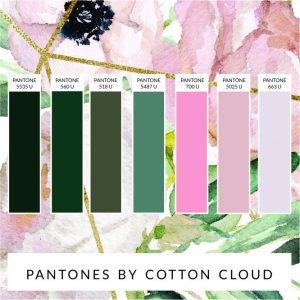 PANTONE-COLOUR-CHART-GREEN-AND-PINK